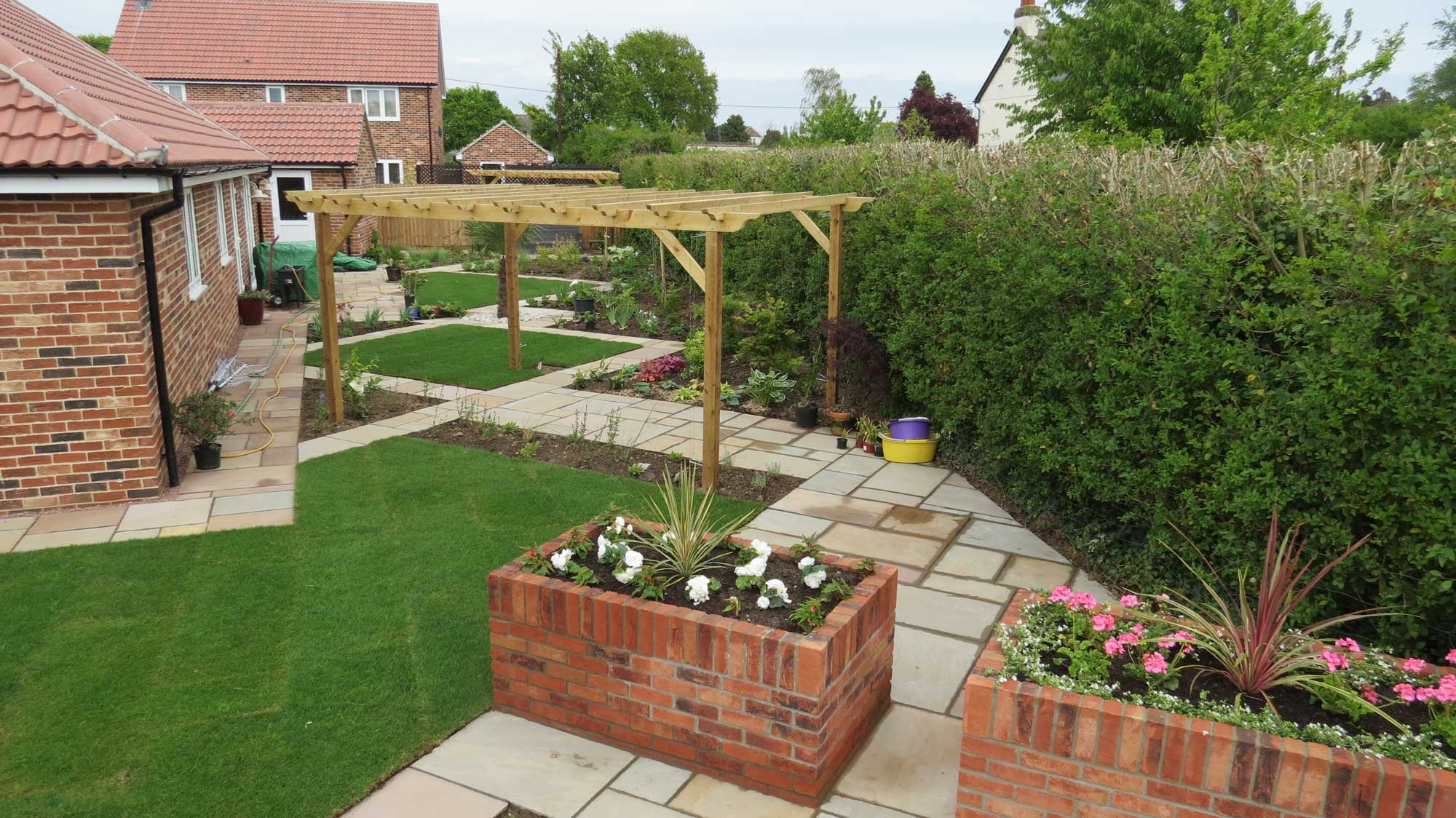 landscapers clacton es garden design es